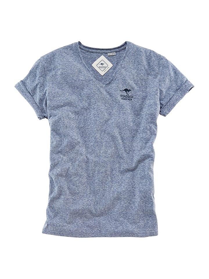 Roadsign Shirt in Blau