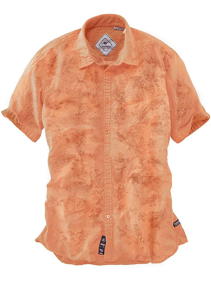 Roadsign Hemd in Orange
