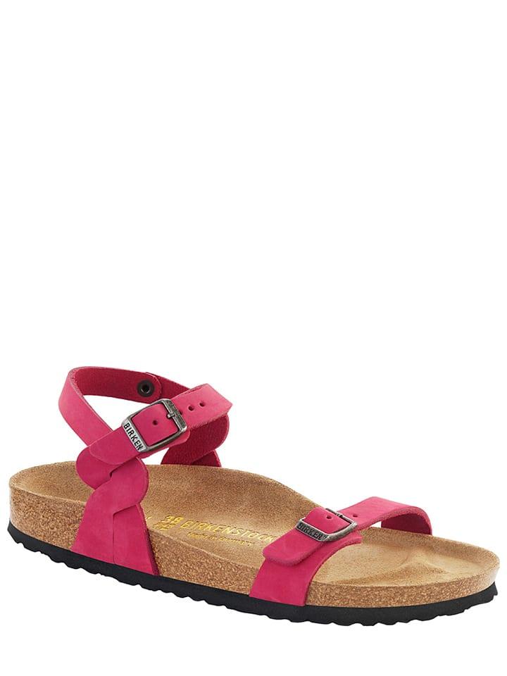 "Birkenstock Leder-Sandalen ""Pali"" in Pink - Weite S"