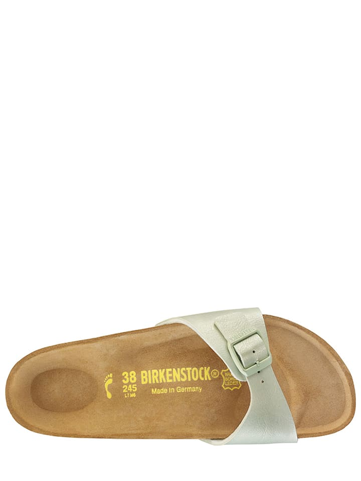 "Birkenstock Pantoletten ""Madrid"" in Mint - Weite S"