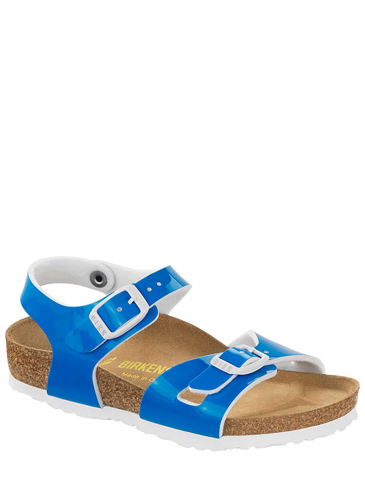 "Birkenstock Sandalen ""Rio"" in Blau - Weite N"