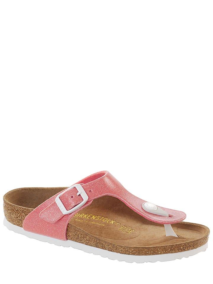 "Birkenstock Pantoletten ""Gizeh"" in Pink - Weite N"