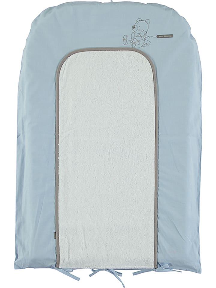 Absorba Matelas à langer - taupe/bleu - 72 x 48 cm