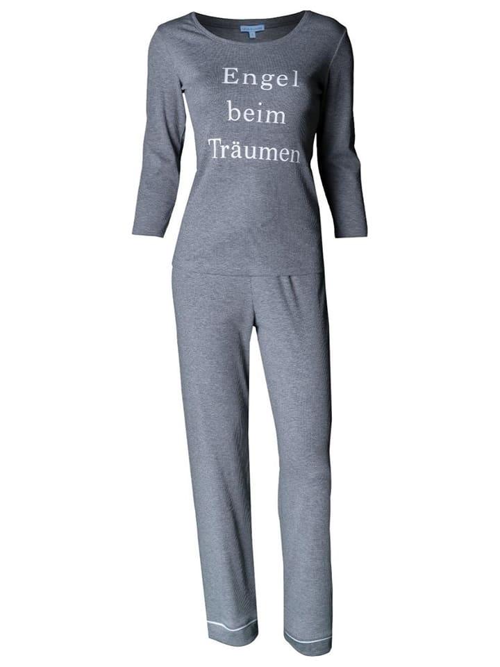 Louis & Louisa Pyjama in Grau