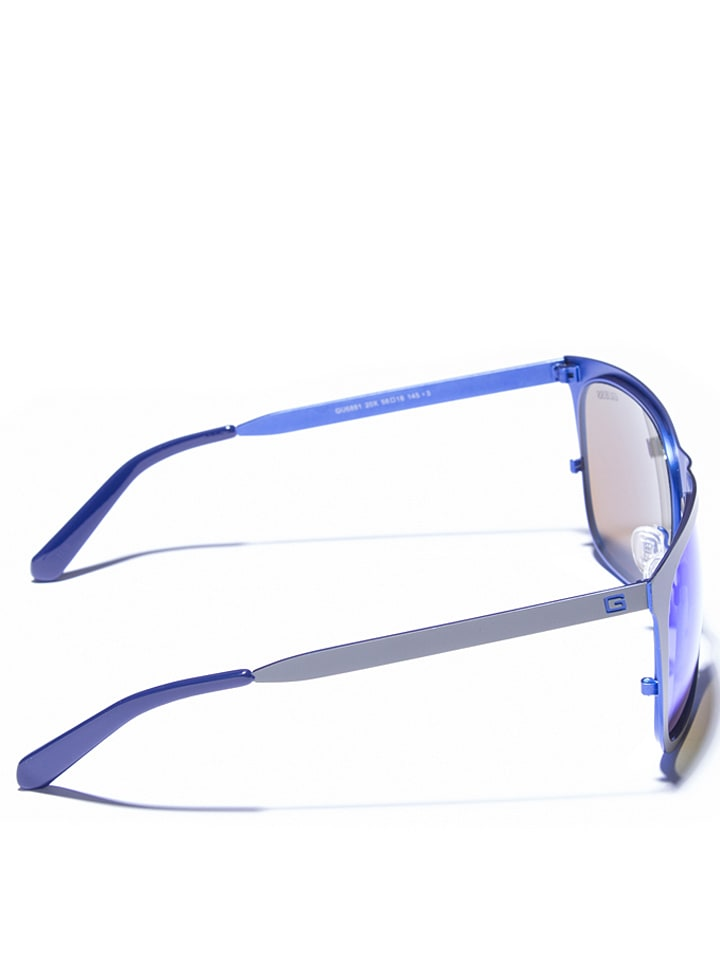 Guess - Lunettes de soleil - homme - gris bleu   Outlet limango 15cdf78a929d