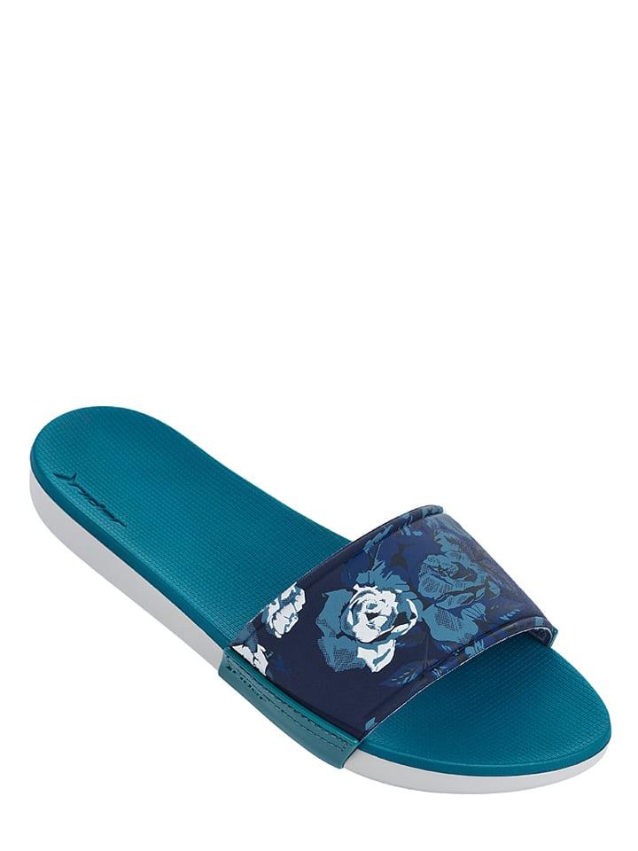 """Rider Pantoletten """"Rider RX Slide"""" in Petrol/ Blau"""