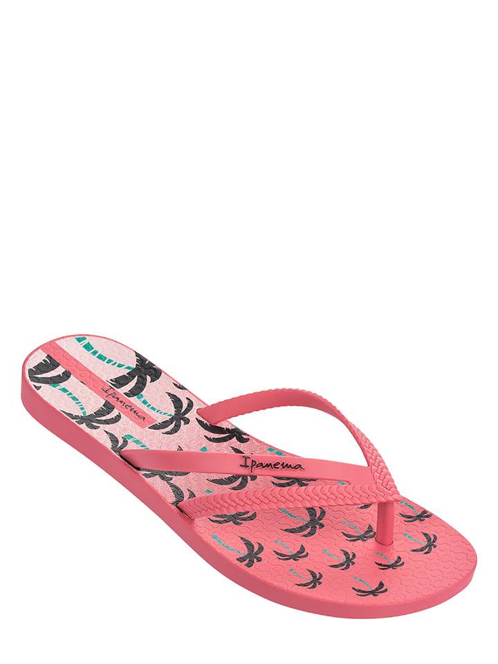"Ipanema Zehentrenner ""Bossa Print"" in Pink"