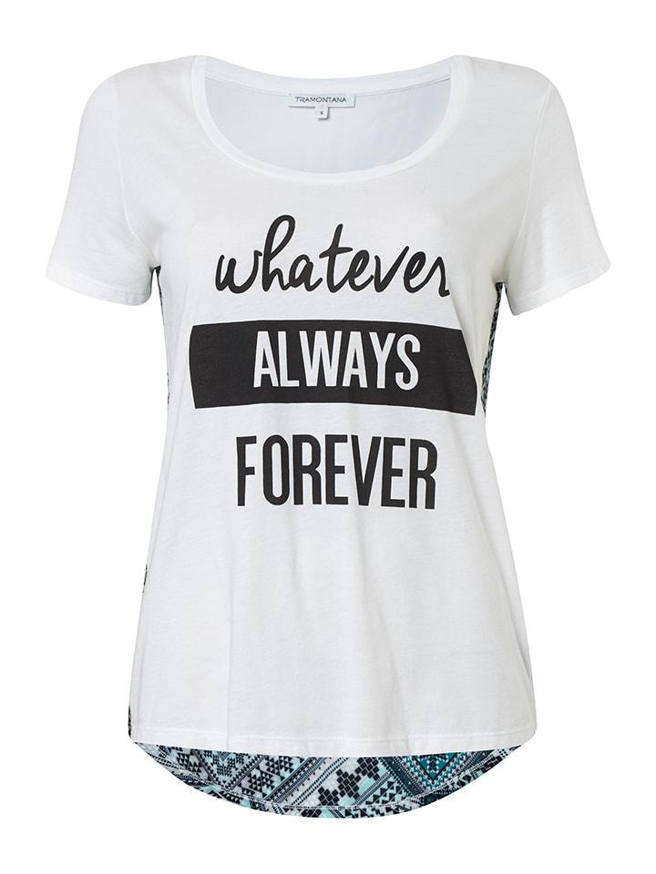Tramontana Shirt in Weiß/ Bunt