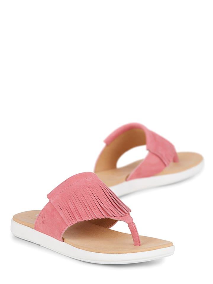 "EMU Leder-Zehentrenner ""Iris"" in Pink"