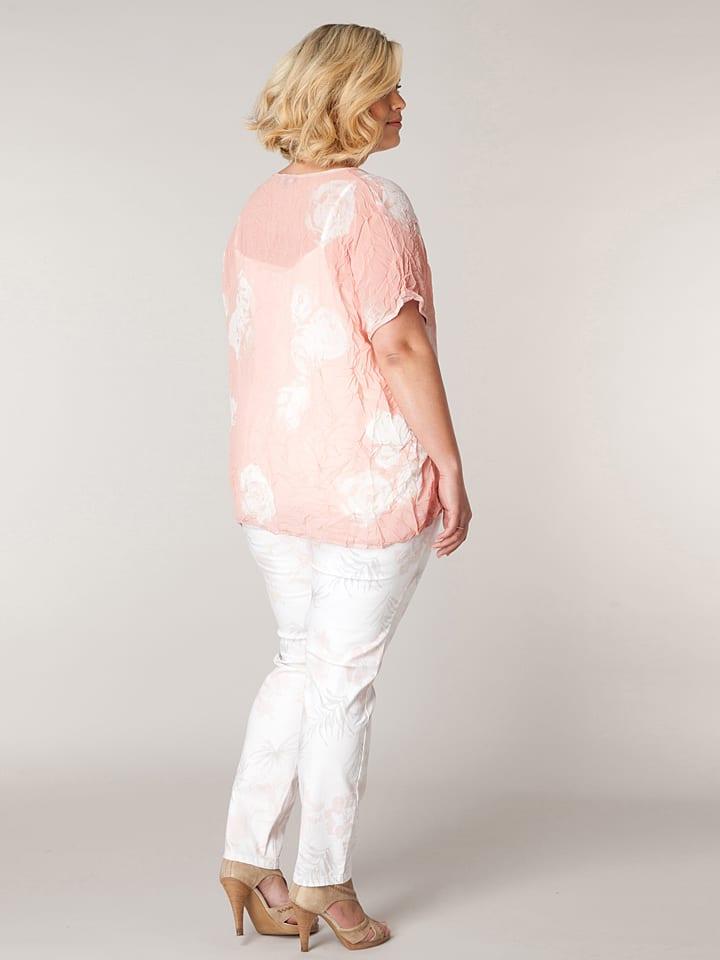 "X-two Shirt ""Janie"" in Rosa"