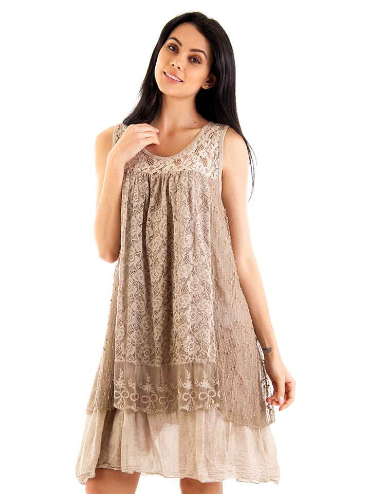 So Nature Kleid in Taupe