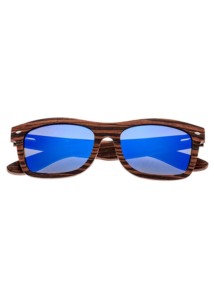 Earth wood Unisex-Sonnenbrille Maya in Naturholz - 70% ZmY9khe8