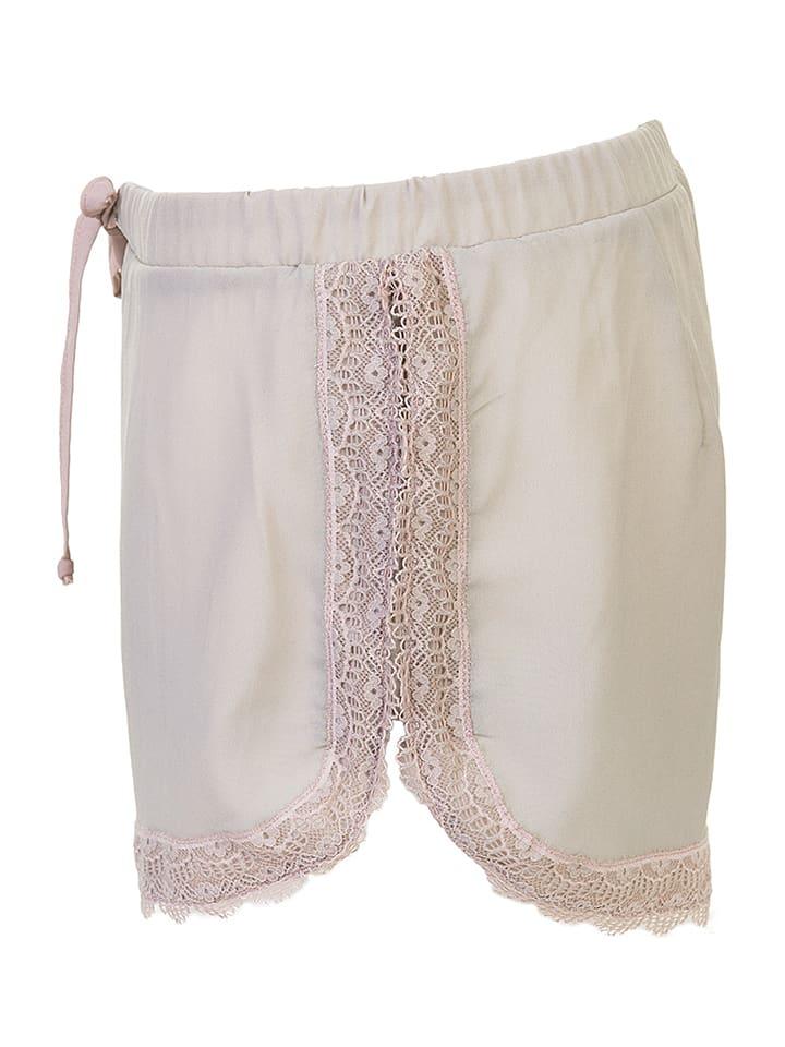 """Sapph Pyjama-Shorts """"Zen"""" in Beige"""