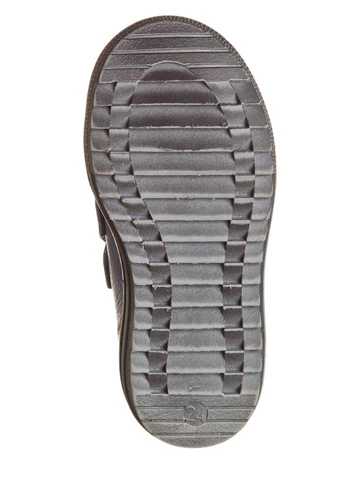 Billowy Leder-Sneakers in Hellblau