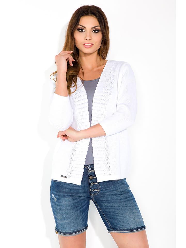 Fobya Cardigan in Weiß