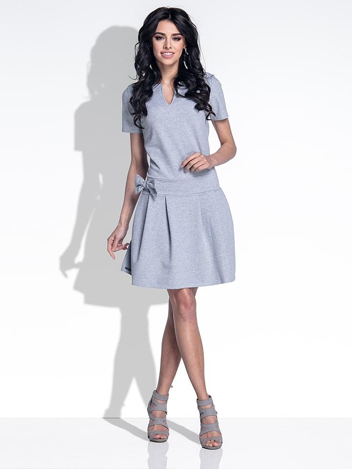 Fobya Kleid in Grau
