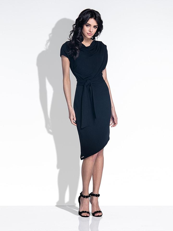 Fobya Kleid in Schwarz