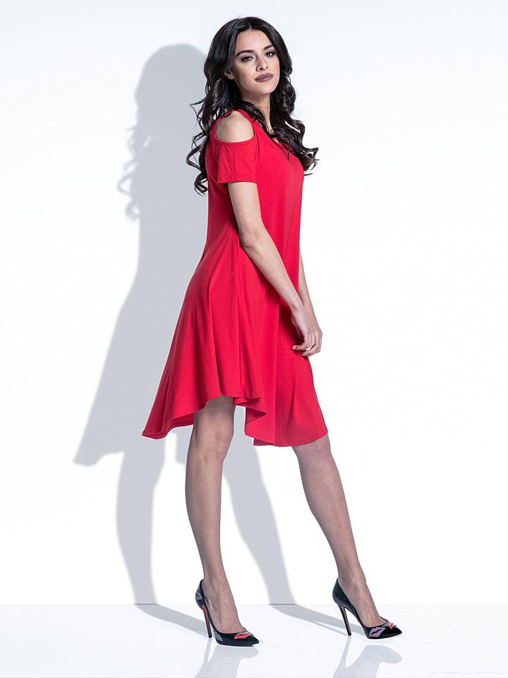 Fobya Kleid in Rot