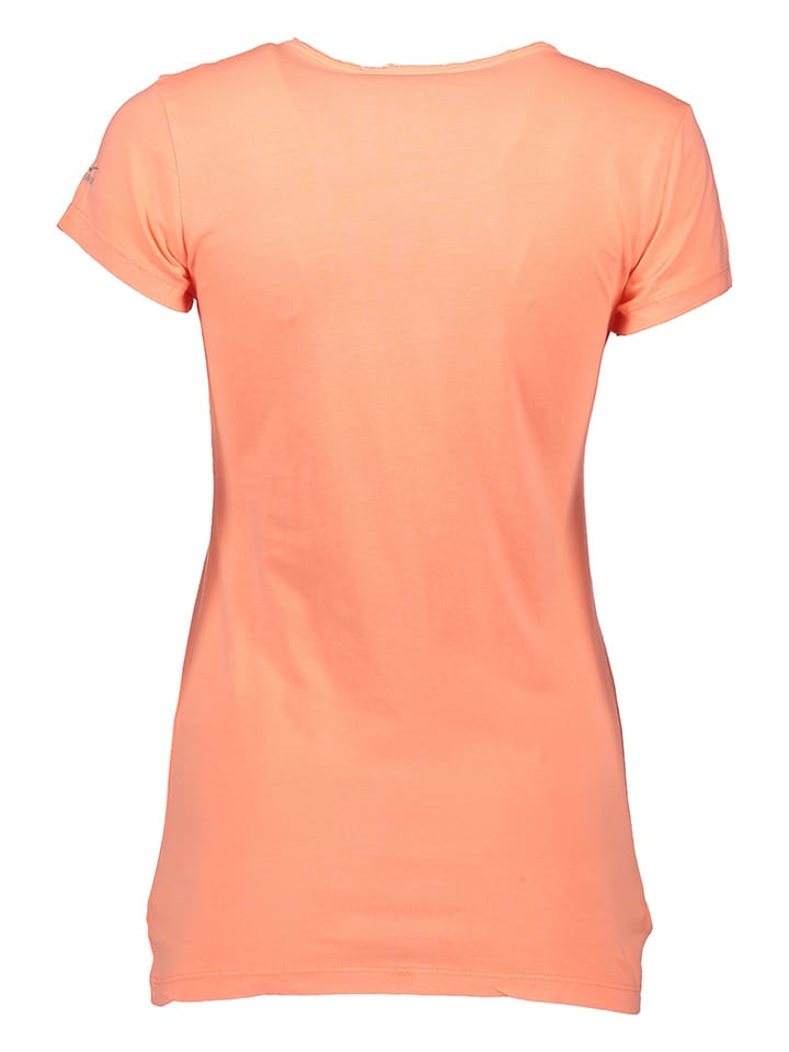 Venice Beach Funktionsshirt in Neon Orange