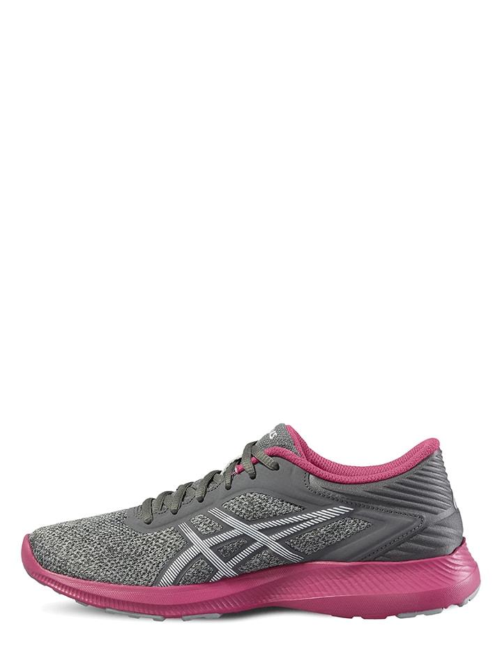 "Asics Fitnessschuhe ""Nitrofuze"" in Grau/ Pink"