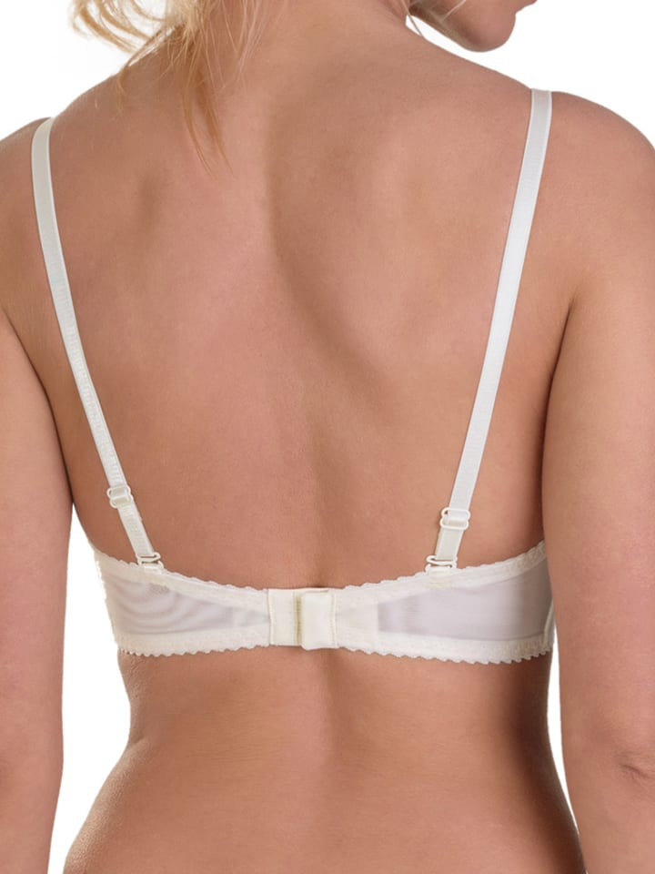 Valea Push-up-BH in Creme/ Rosa