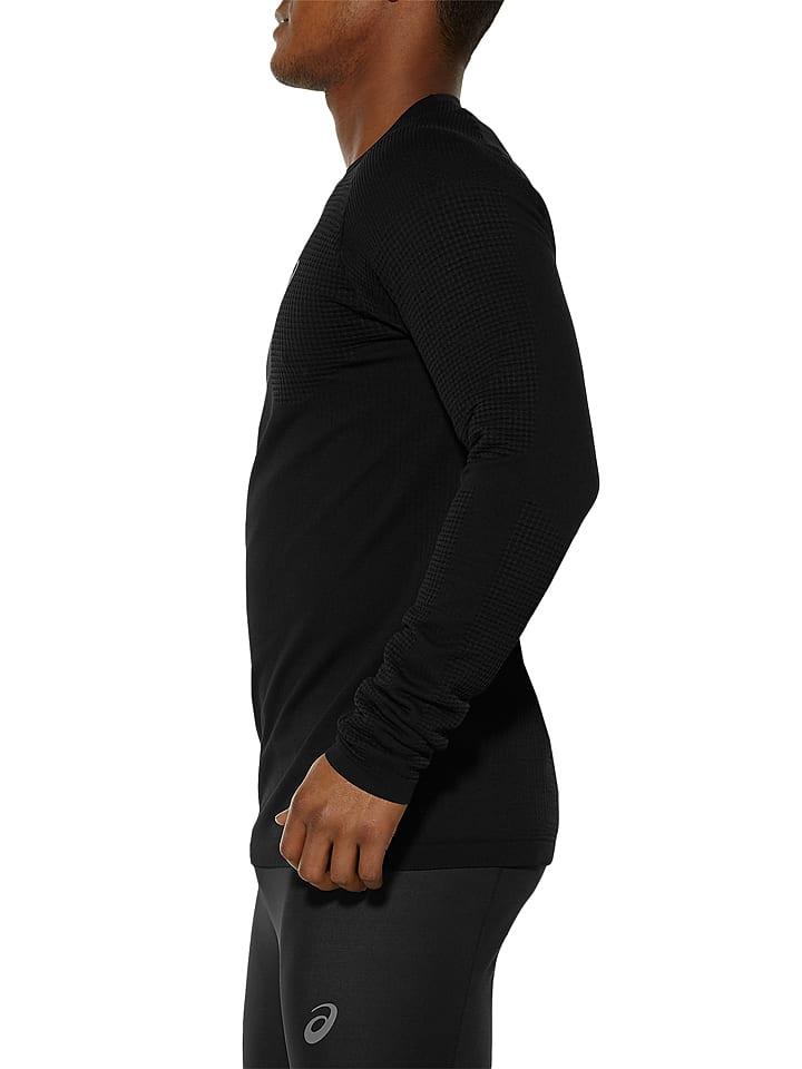 Asics Funktionsshirt in Schwarz
