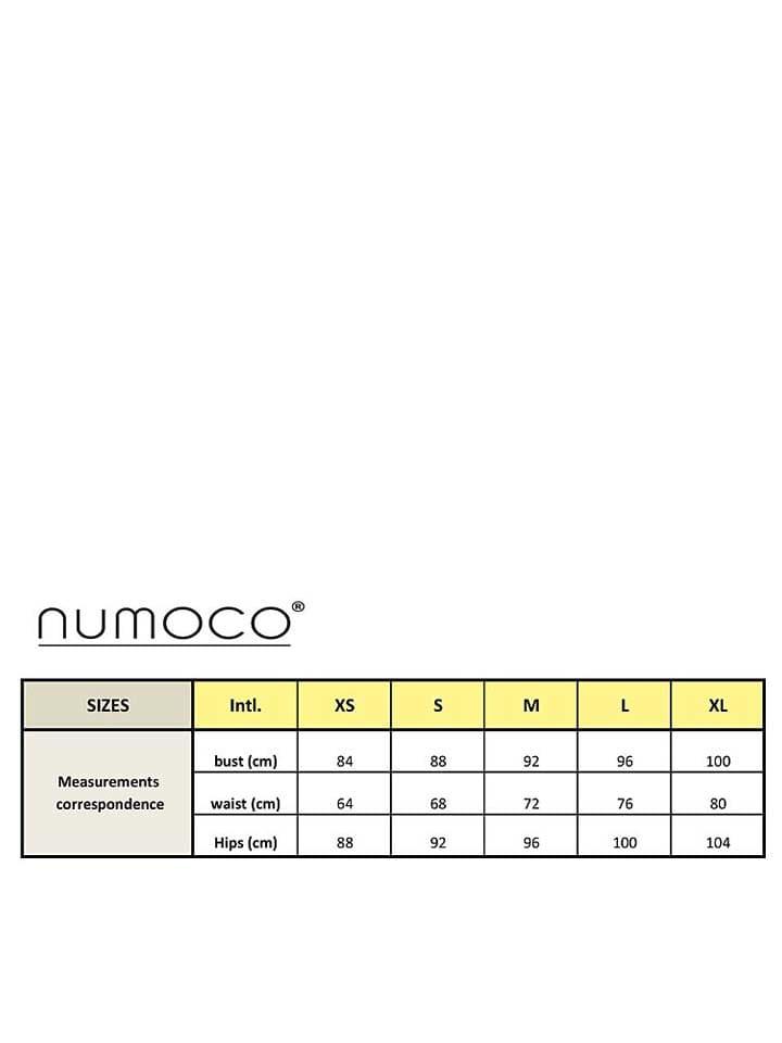 Numoco Kleid in Dunkelblau