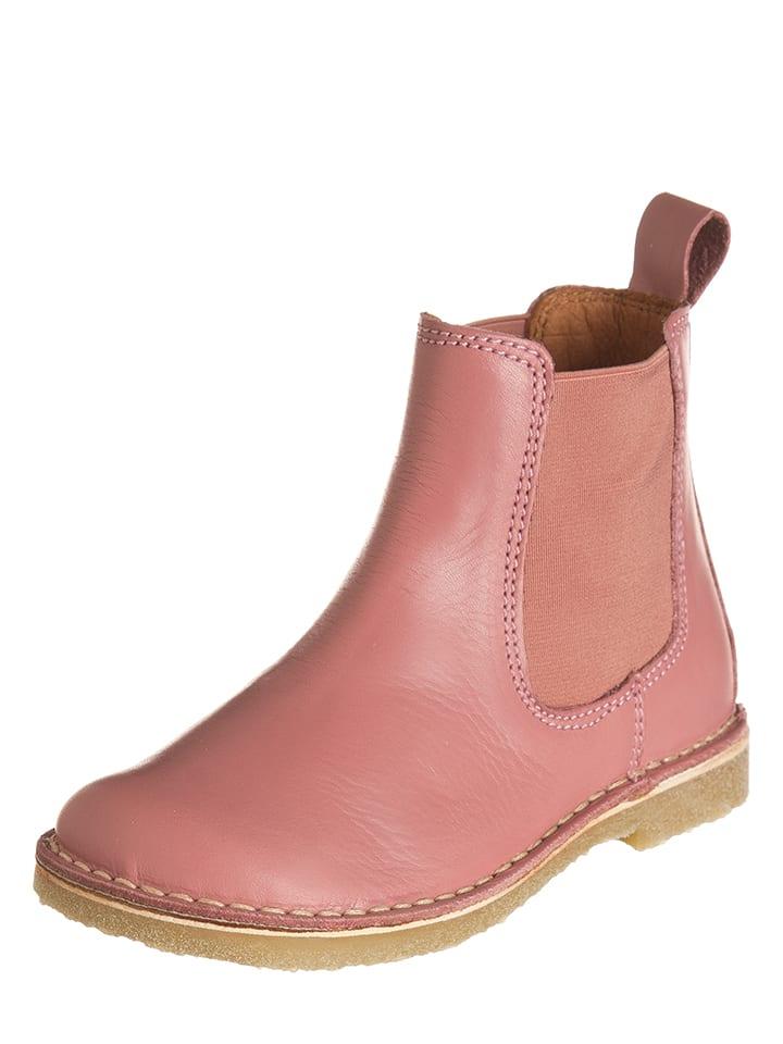 bundgaard leder chelsea boots in rosa limango outlet. Black Bedroom Furniture Sets. Home Design Ideas