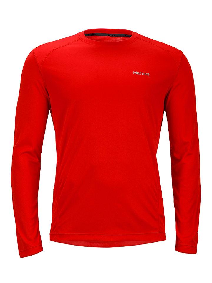 "Marmot Funktionsshirt ""Windridge"" in Rot"