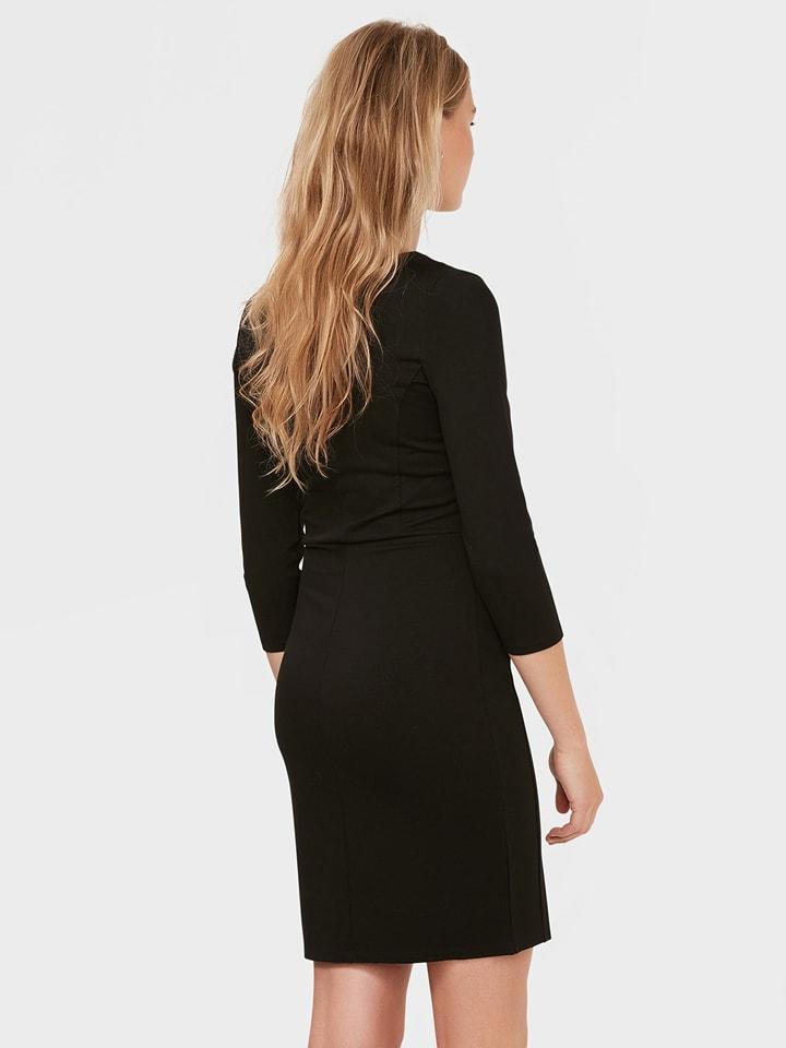 WE Fashion Kleid in Schwarz