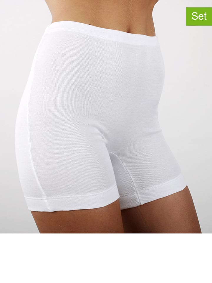 Ab tricot 2er-Set: Pantys in Weiß