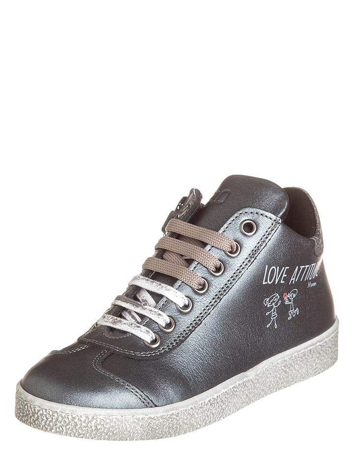 EB Shoes Leder-Sneakers in Braun - 63%