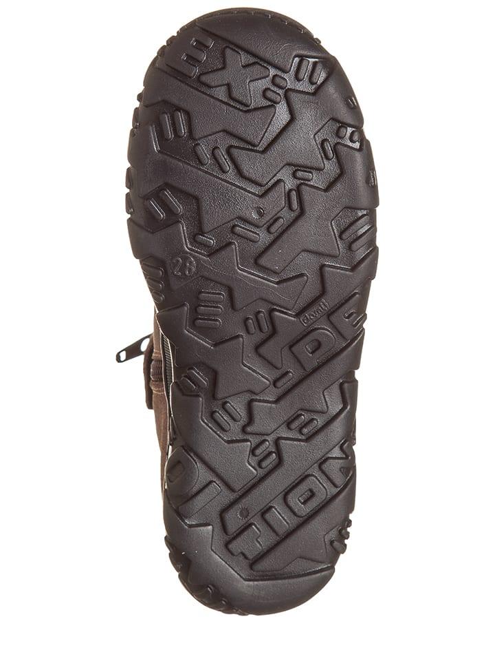 EB Shoes Leder-Stiefeletten in Rosa