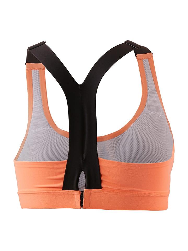 Adidas Sport-BH in Orange/ Schwarz