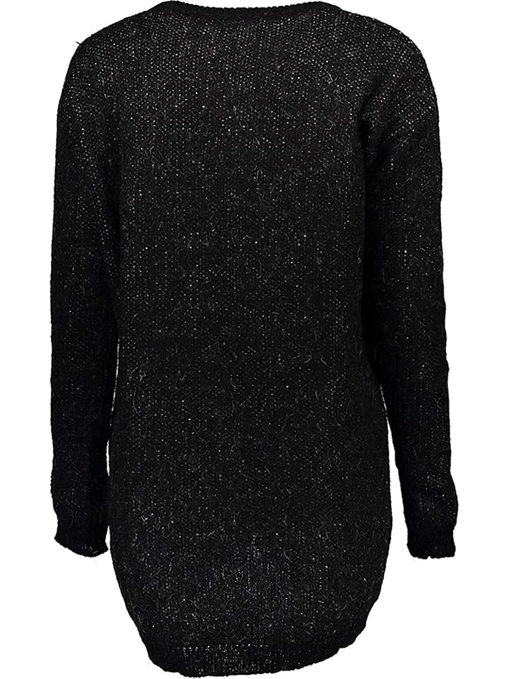 Benetton Strickpullover in Schwarz
