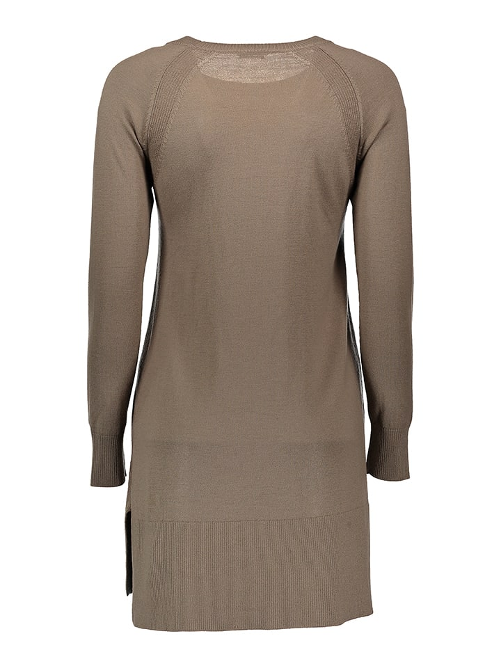 Benetton Wollpullover in Taupe