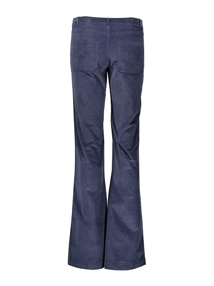 Benetton Cordhose - Regular fit - in Blau