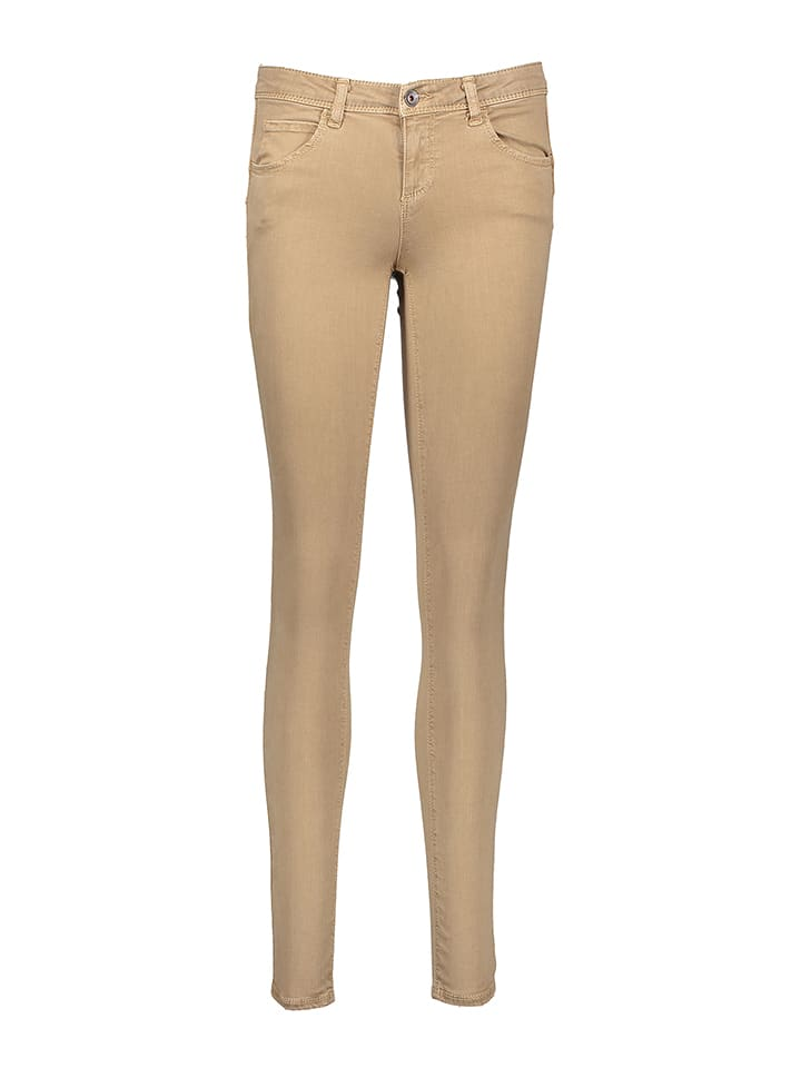 Benetton Hose - Super Skinny - in Beige