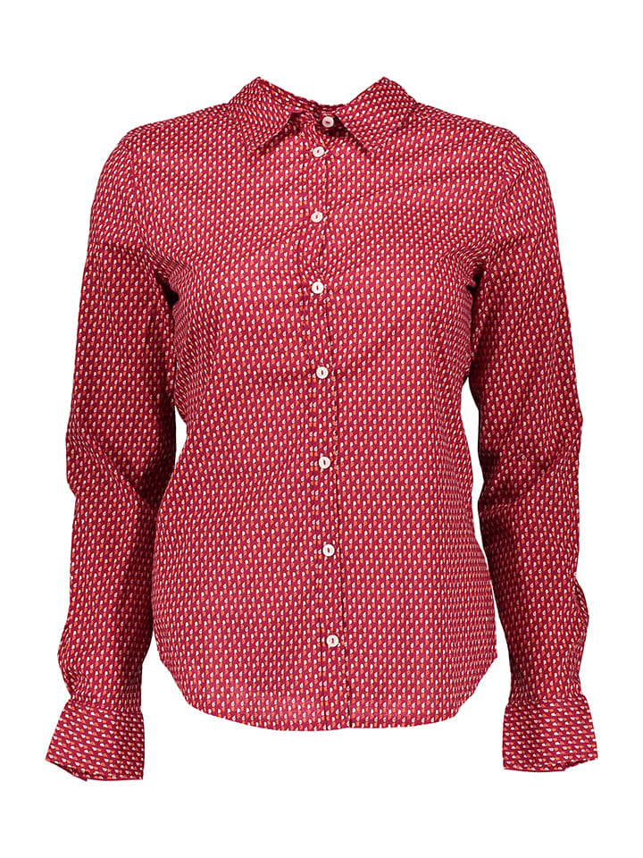 Benetton Bluse in Rot