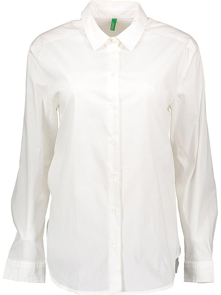 Benetton Bluse in Weiß