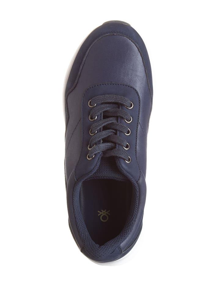Benetton Sneakers in Blau