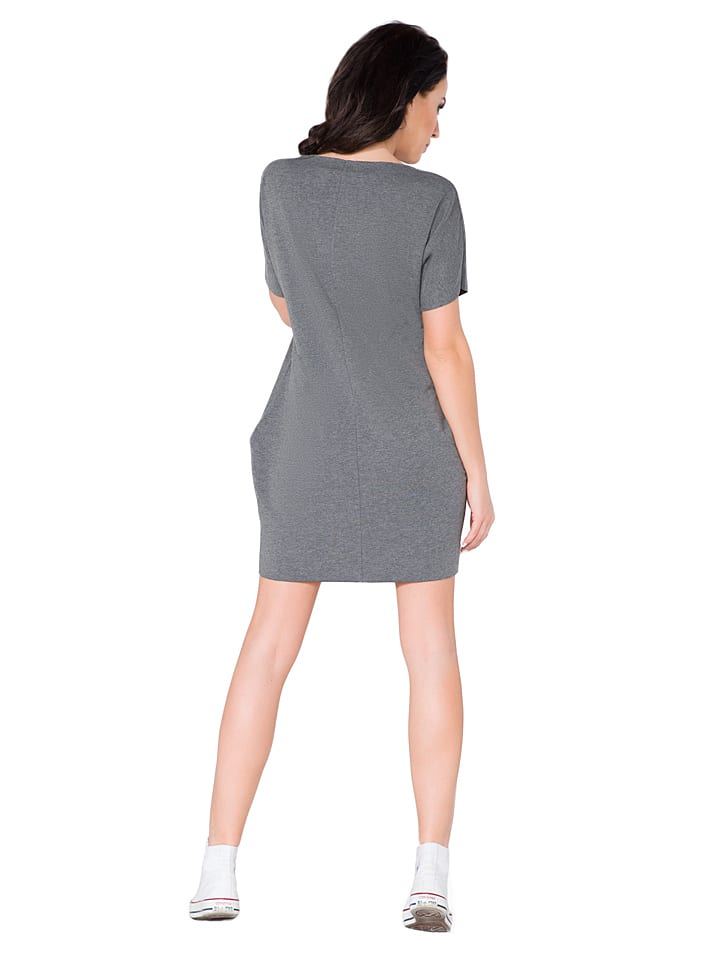 Tessita Kleid in Grau