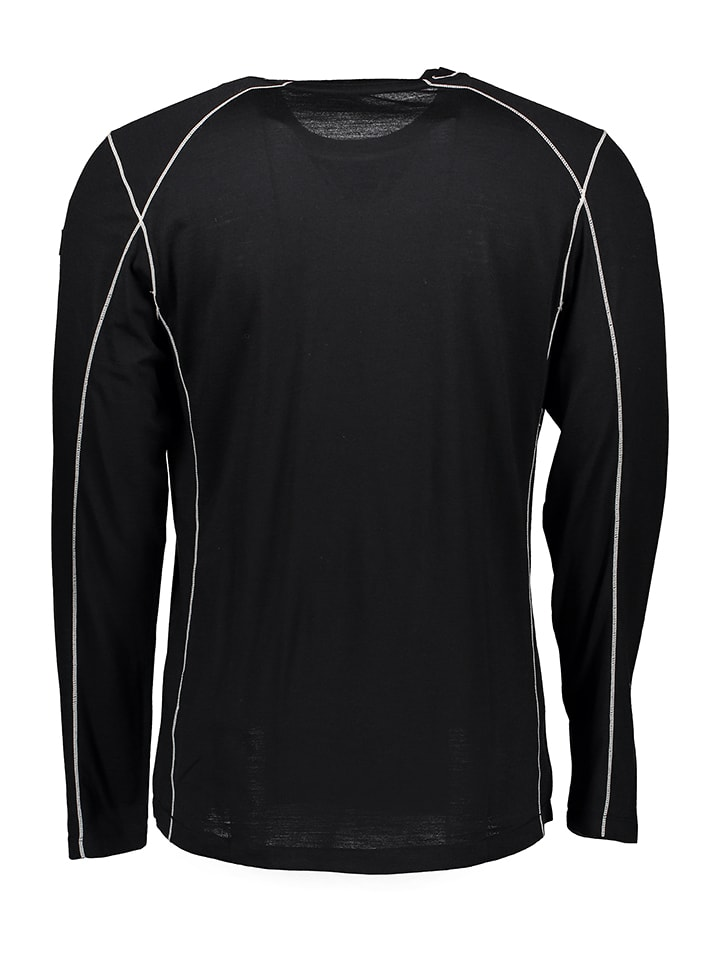 Super.natural Shirt in Schwarz/ Grau