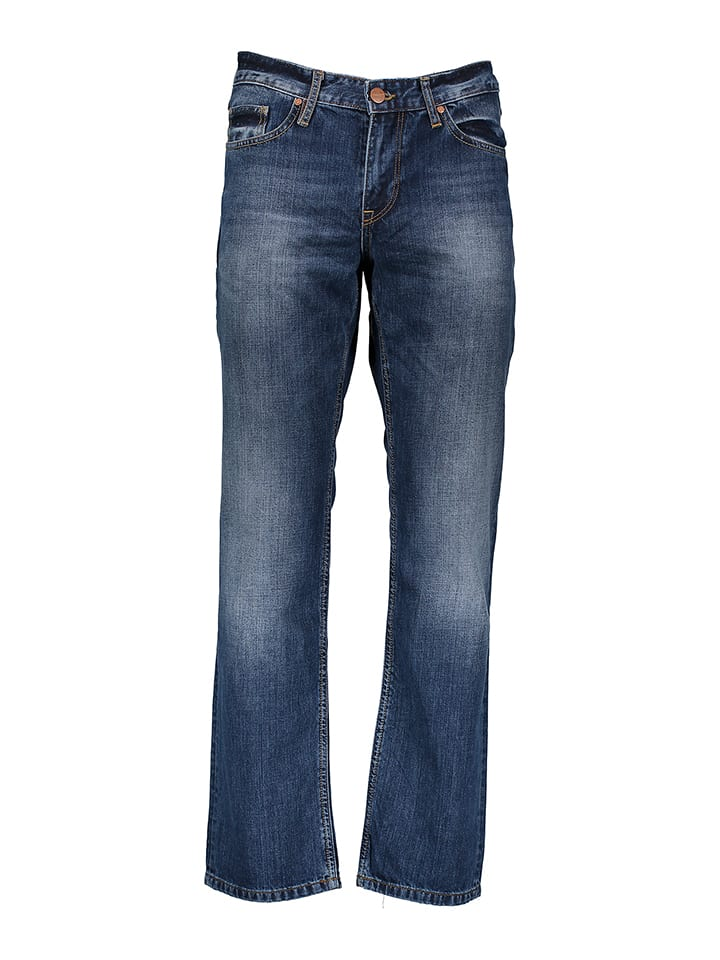 "Cross Jeans Jeans ""Antonio"" - Casual Fit - in Blau"