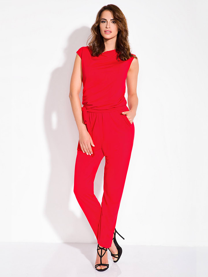 Fimfi Jumpsuit in Rot