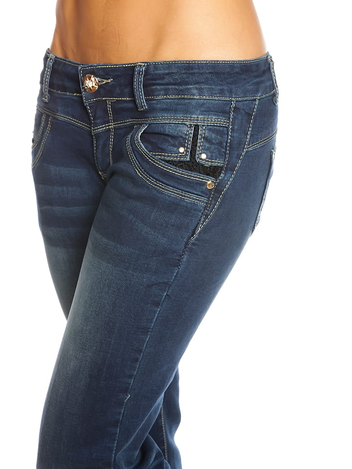 "Scarlet Jones Jeans ""Vegas"" in Dunkelblau"