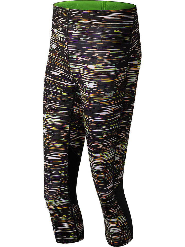 "New Balance Leggings ""Impact"" in Schwarz/ Bunt"