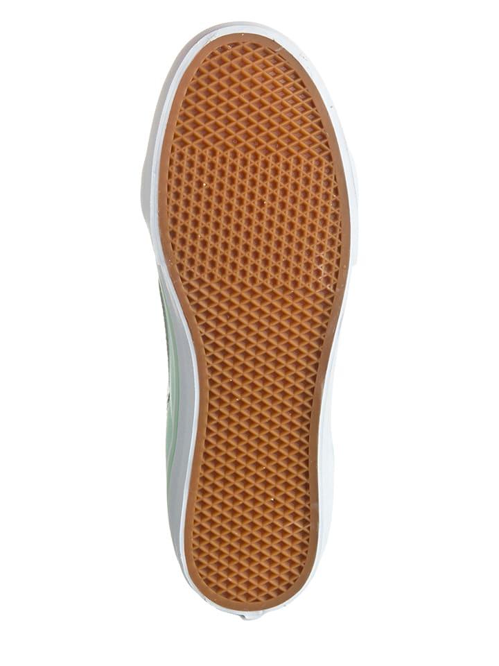"""Vans Sneakers """"Sk8-Hi"""" in Türkis/ Creme"""