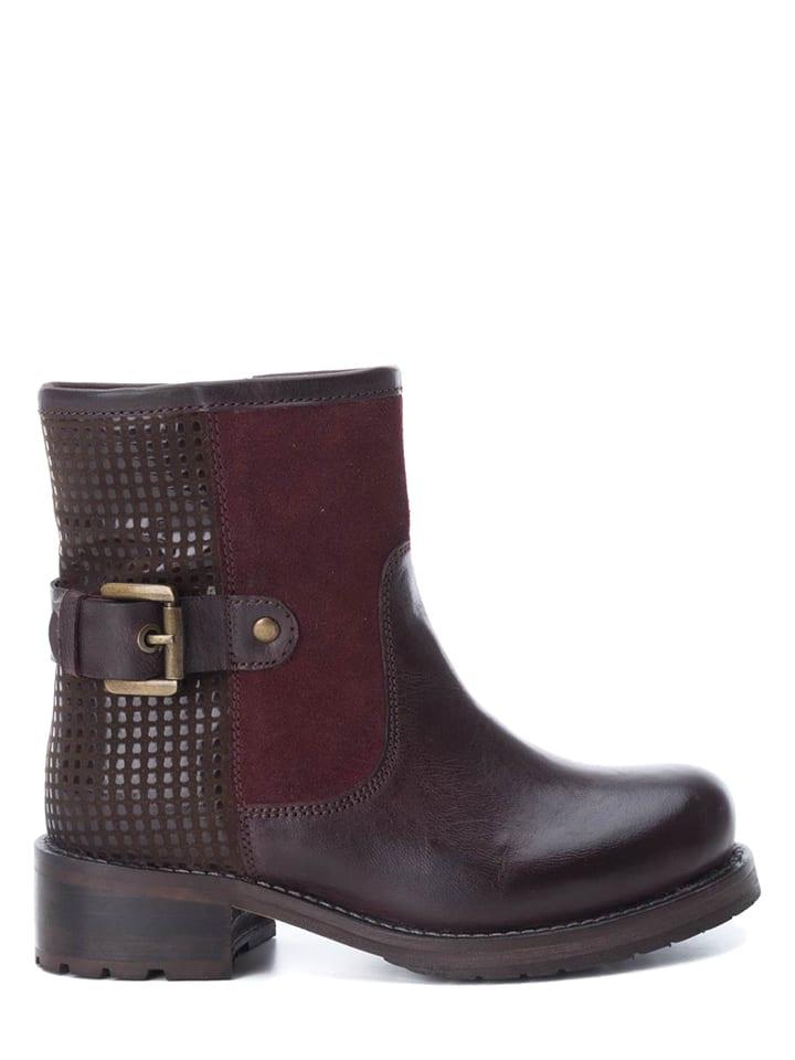 9d7fc4a7825ab XTI Kids - Leren boots bordeaux   limango Outlet
