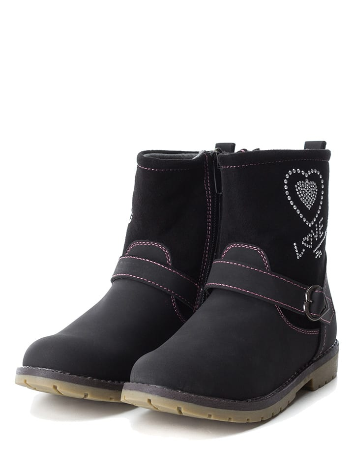 XTI Kids Boots in Schwarz